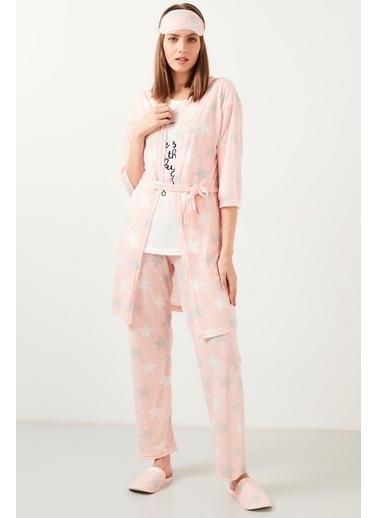 Lela Pijama Takım Pembe